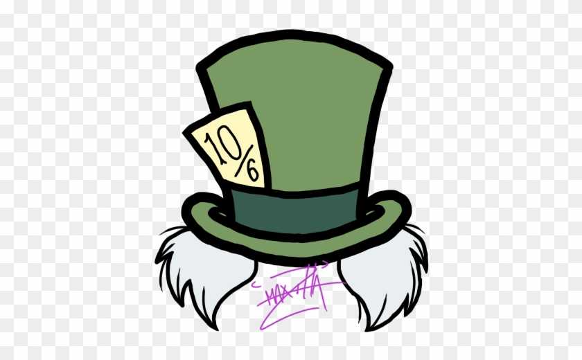 Mad Hatter Tatter By Stormsketch Alice In Wonderland Png Hat Free Transparent Png Clipart Images Download