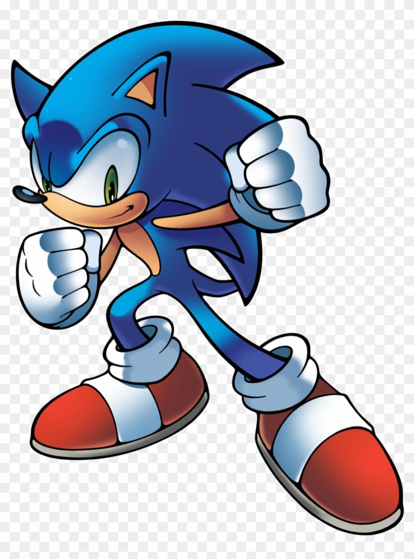 Waniramirez S Deviantart Gallery Sonic The Hedgehog Archie Artwork Free Transparent Png Clipart Images Download