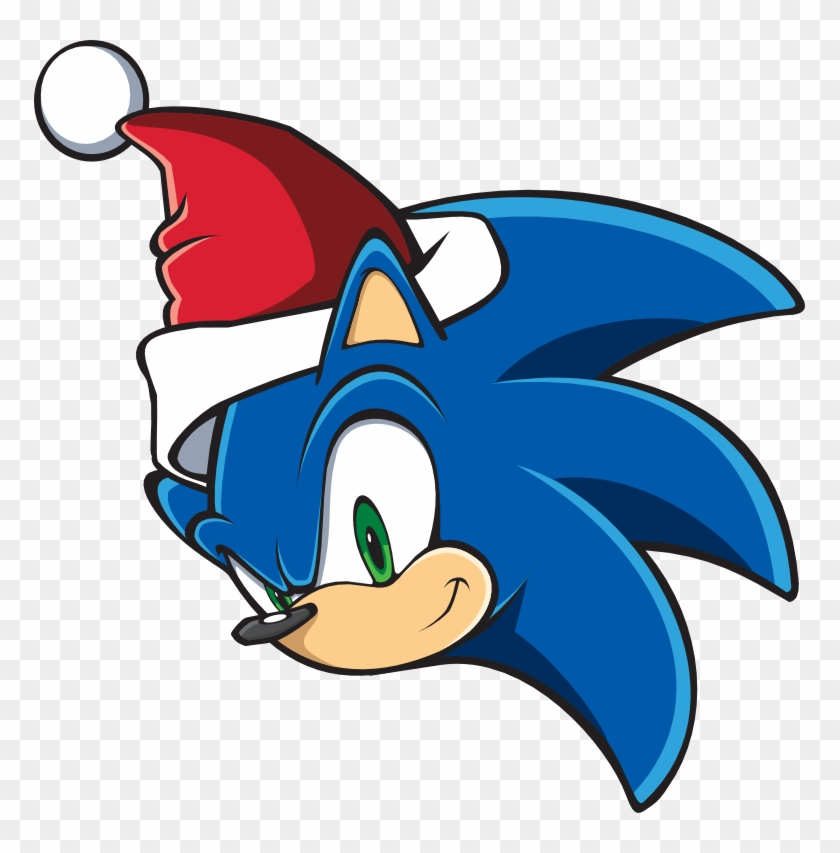 Sonic Christmas Sonic Team Style Face By Tails And Draw Christmas Sonic Free Transparent Png Clipart Images Download