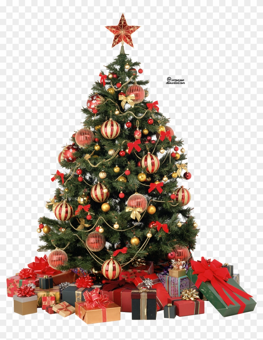 Image - Christmas Tree Decorations With Gifts #529743