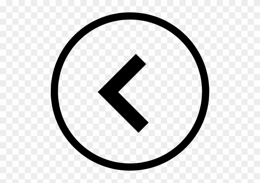Arrow, Back, Circle Icon - Left And Right Arrow Icons #529790