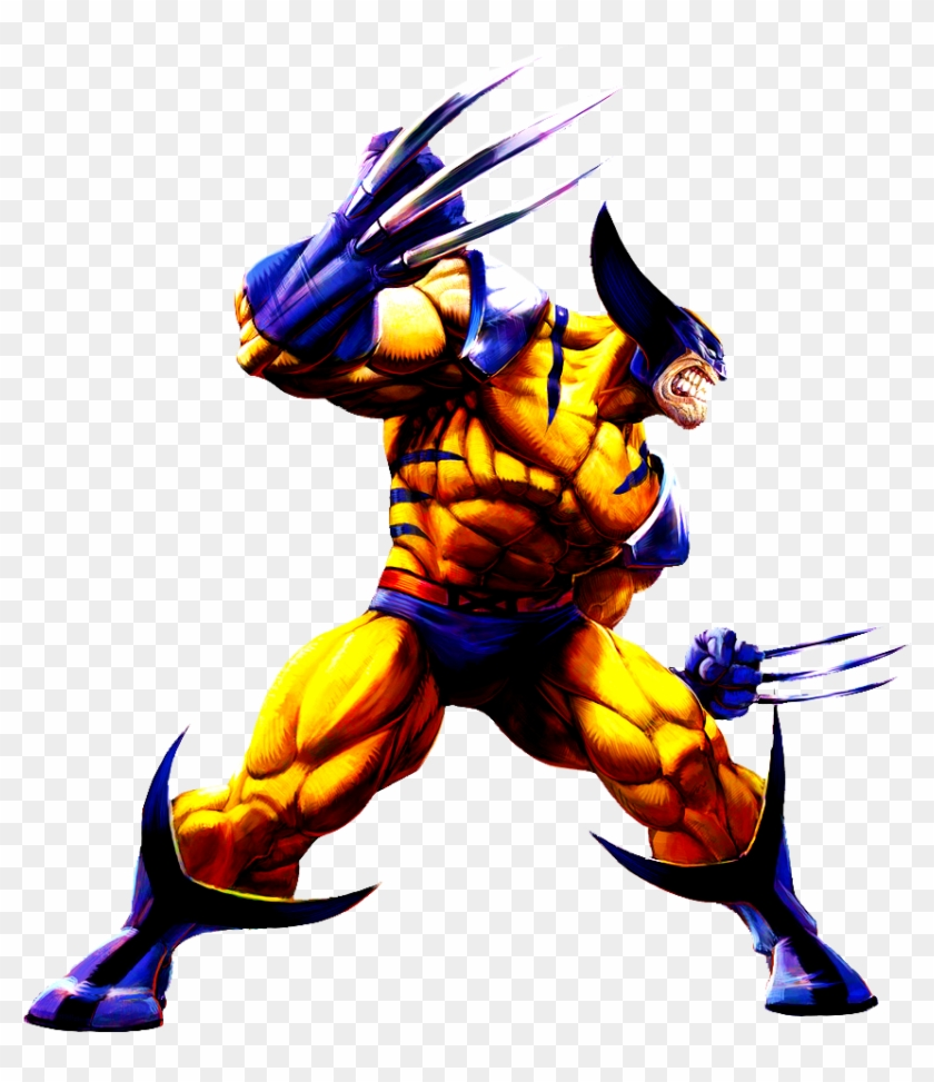 Wolverine Clipart Marvel - Wolverine Marvel Vs Capcom #529980