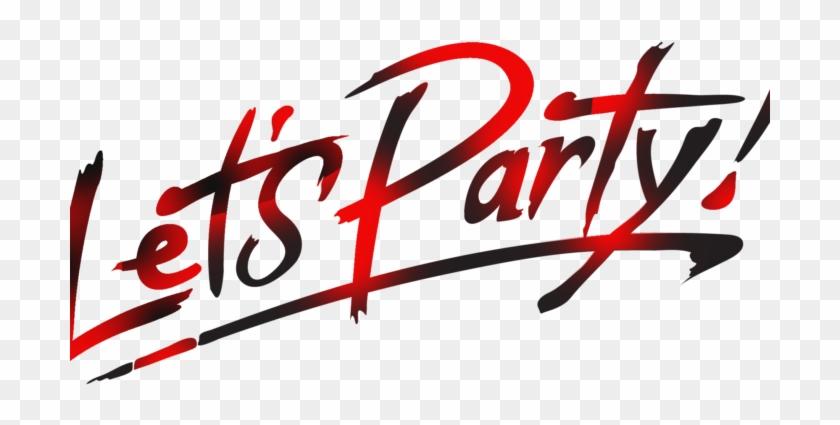 Lets Partylogo - Pink Lets Par...