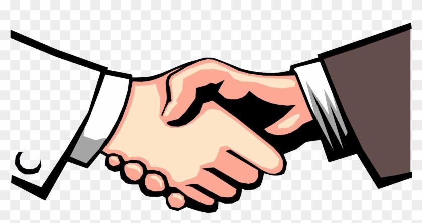 I - Shake Hands Clip Art #530111