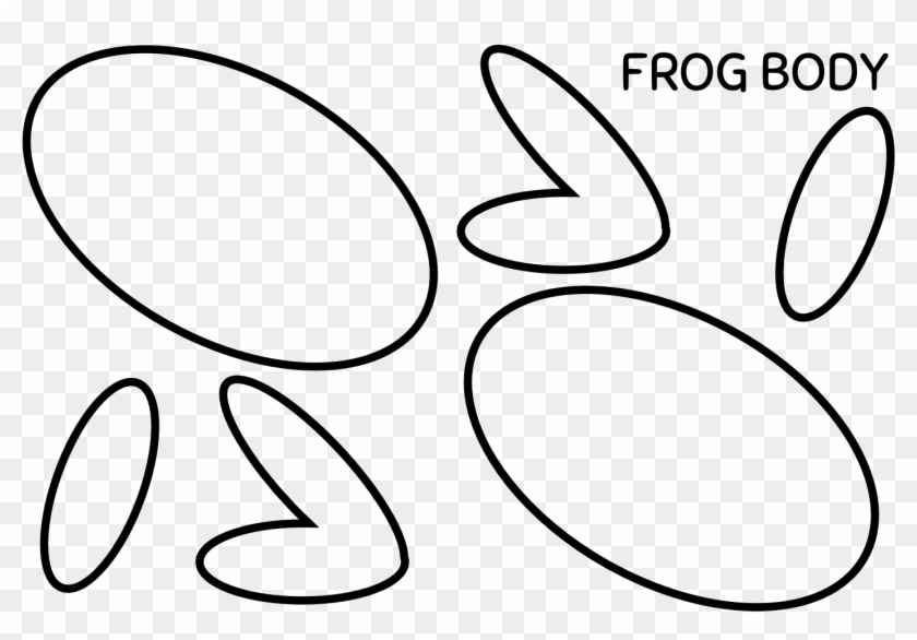 photograph about Frog Template Printable referred to as free of charge printable frog templates -