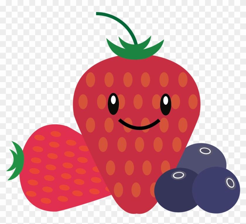Strawberries Cartoon Pictures