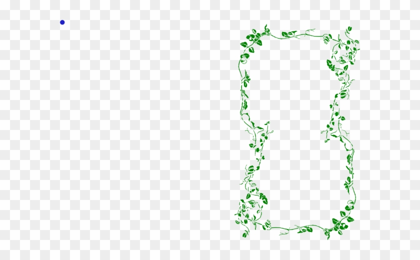 Green Ivy Vine Border Clip Art At Clker My Name Is Baylee Free