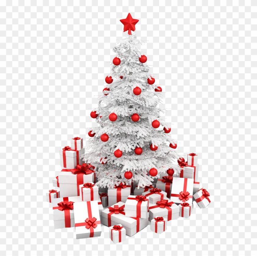 White Fake Christmas Trees