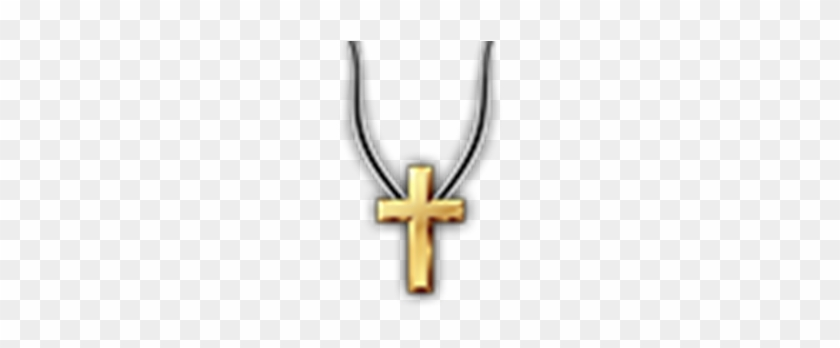 Golden Cross Necklace Hd Transparent Roblox T Shirt Cross Free