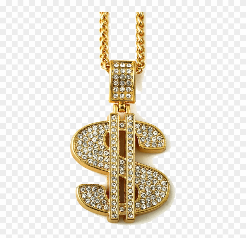 Gold Dollar Png Photos - Dollar Sign Gold Chain - Free