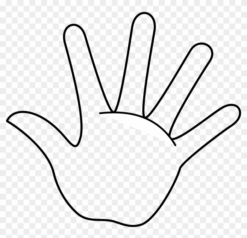 remember the 5 finger rule hand coloring page free transparent png clipart images download 5 finger rule hand coloring page