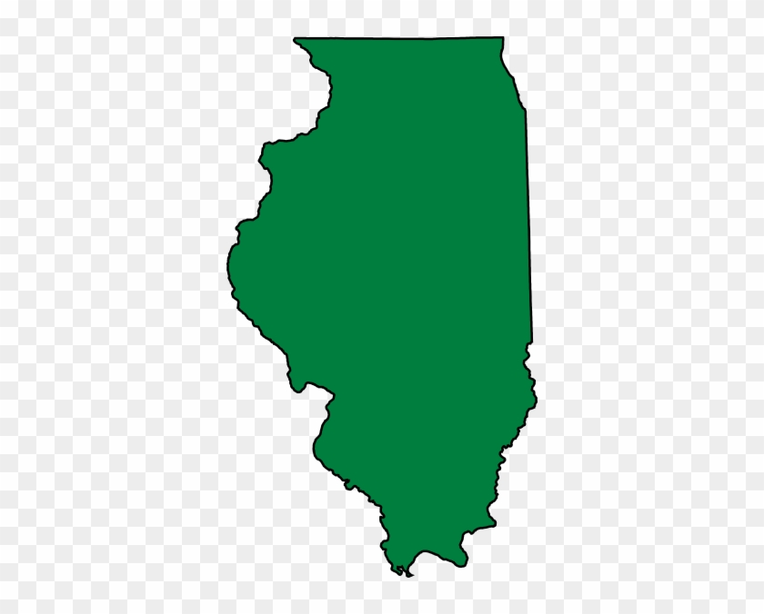 Illinois Clip Art At Clker - State Of Illinois Shape #533356