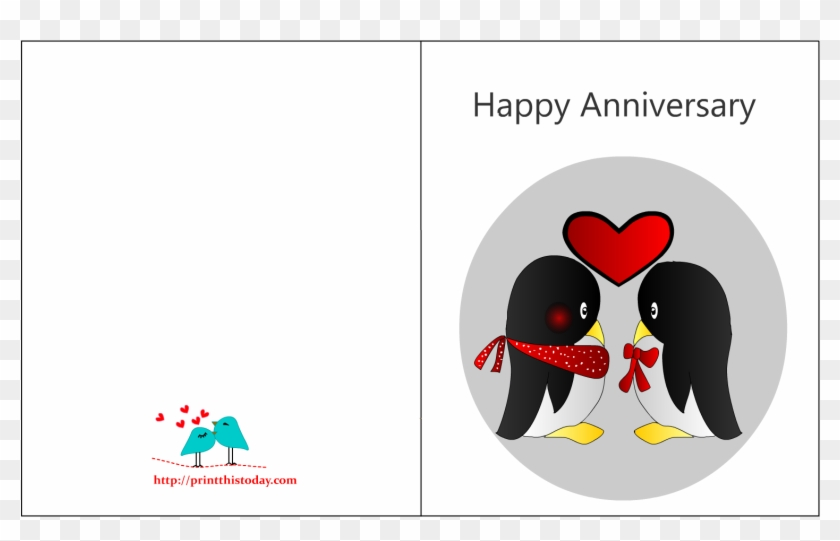 wedding anniversary card template