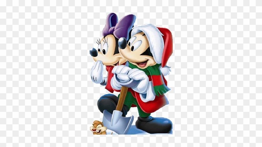 cool mickey mouse and minnie mouse wallpaper christmas mickeys magical christmas snowed in at the house - Mickey Magical Christmas