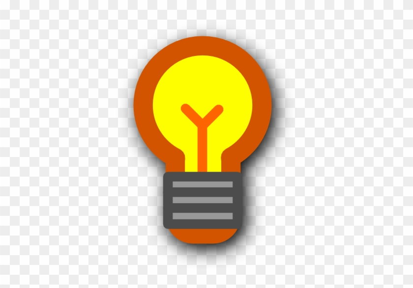 Bulb Clipart Hint Pencil And In Color Bulb Clipart - Light Bulb Icon #533995
