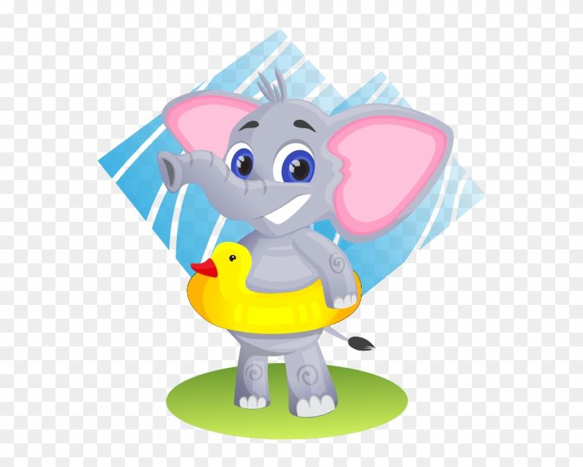 Baby Elephant Free To Use Clip Art - Public Domain Elephant Clipart #534029