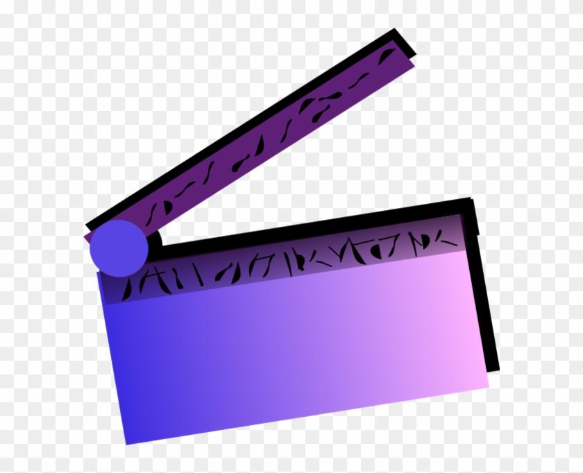 Slate - Clipart - Movie Lights Clip Art #534076