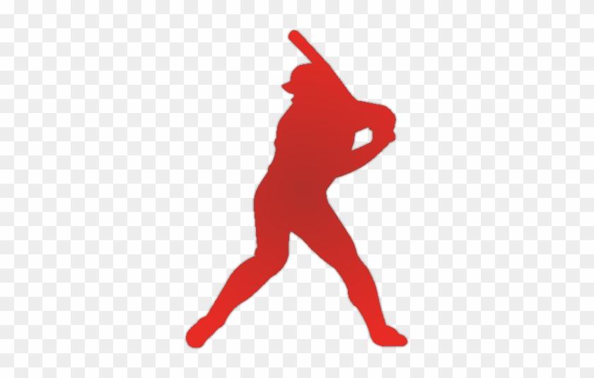 Job Posting St - Silhouette Of Softball Player #534812