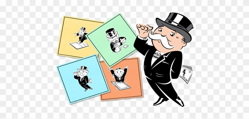 monopoly game pieces clipart - Clip Art Library