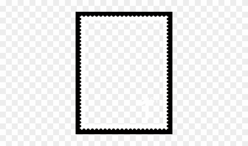 Postage Stamp Template - Postage Stamp Frame Png - Free Transparent ...
