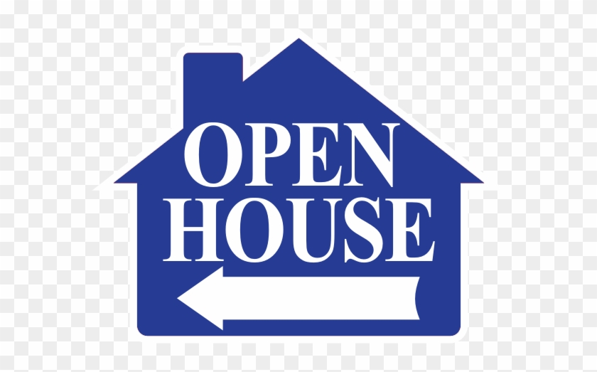Open House Sign 4 Pc Pack - Open House Directional Signs #535371