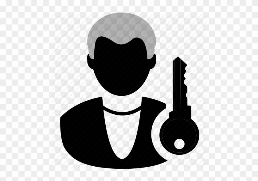 Log Clipart User Profile - Log In Icon Black #535553