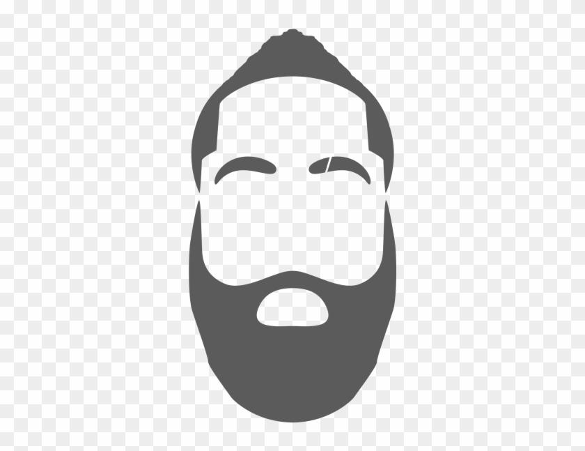 Nba All In On The Emoji Game - James Harden Beard Drawing - Free