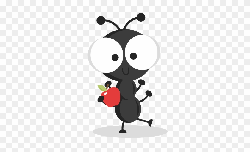 Dancing Picnic Ant Svg Cutting Files Ant Svg Cuts Ant - Cute Ant Png #535977
