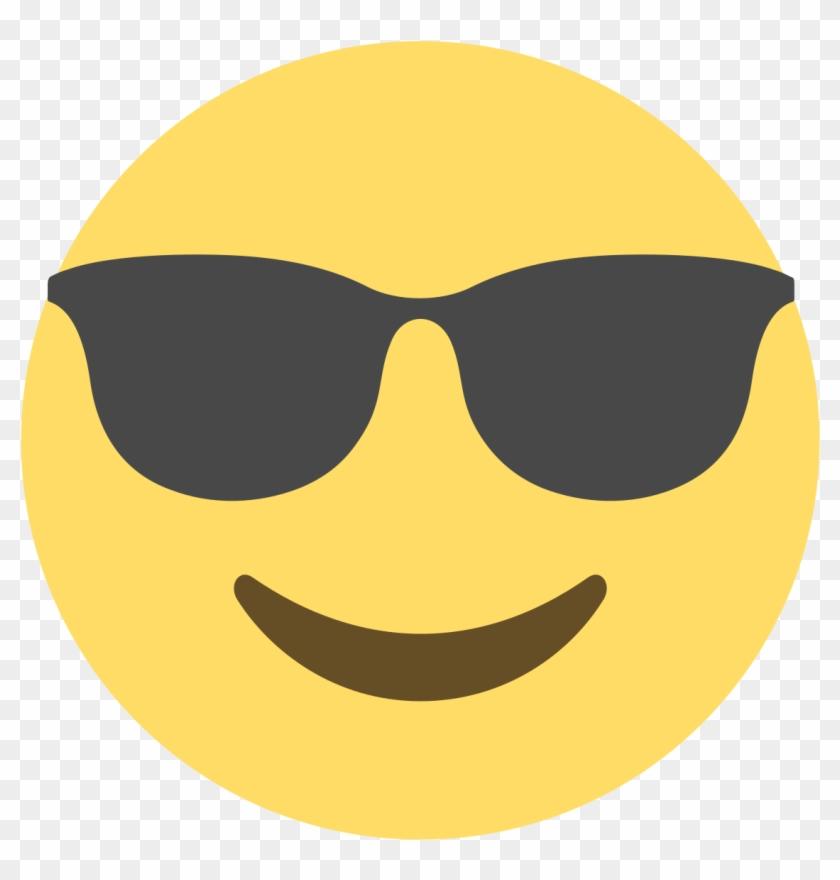 Emoji Vikipedi - Sunglasses Emoji Discord - Free Transparent PNG