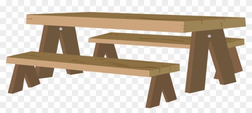 Picnic Table - Free Transparent Picnic Table Clipart #537389