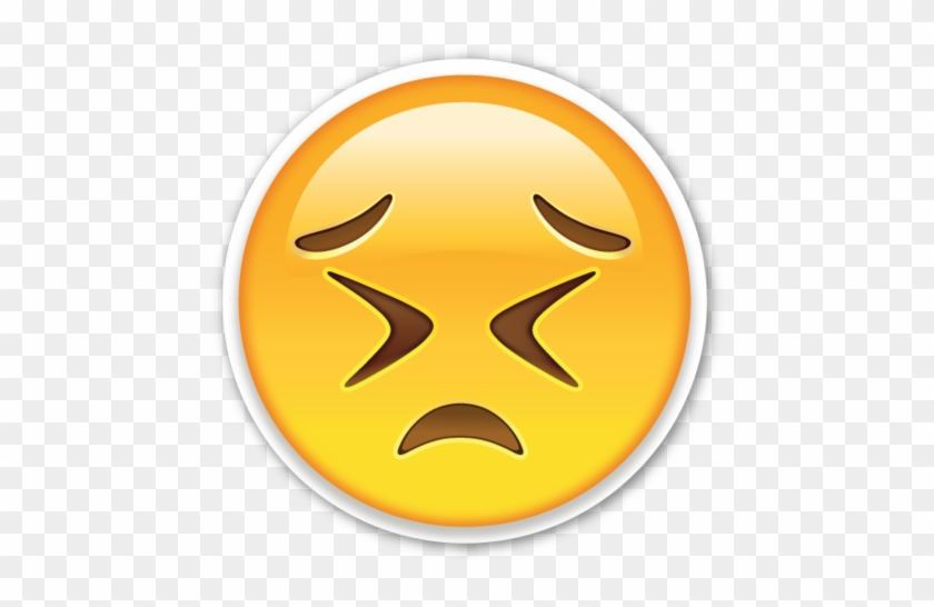 Persevering Face Angry Emoji Transparent Background Free