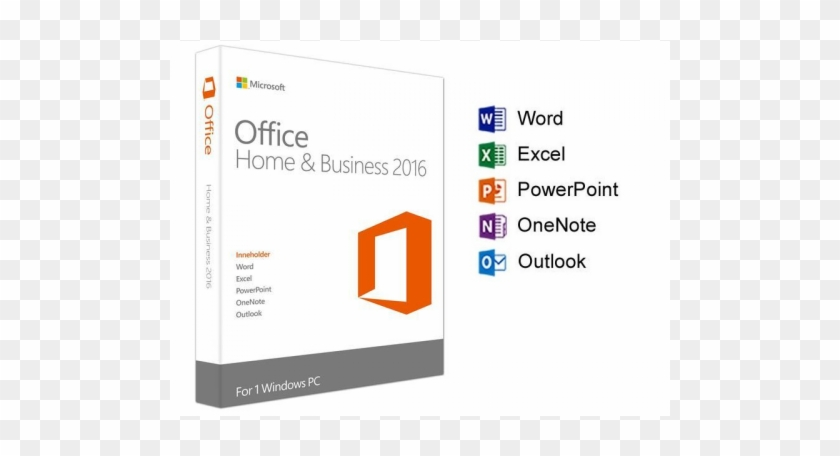 Microsoft Office 2016 Home And Business Oem Edition - Microsoft Office Home And Business 2016 #538852