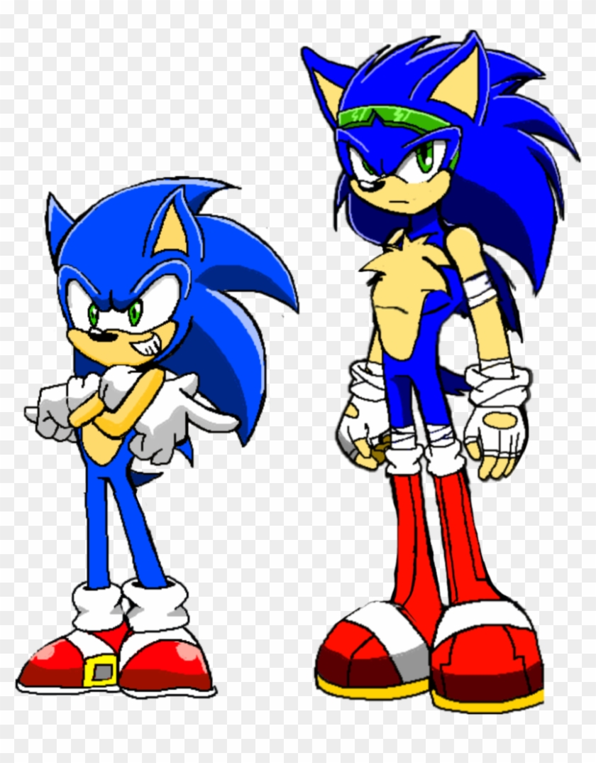 Sonic 15 Year Old And 17 Year Old By Aaronkasarion - Sonic 17 Years Old #538958