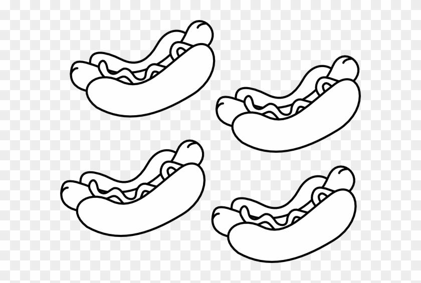 Hot Dog Clip Art #539162