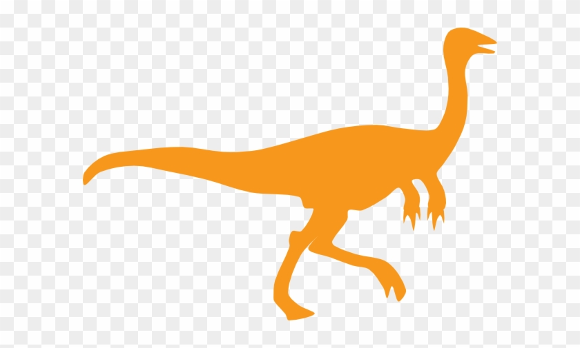Orange Dino Clip Art At Clker - Sometimes We All Need A Little Motivation #539883