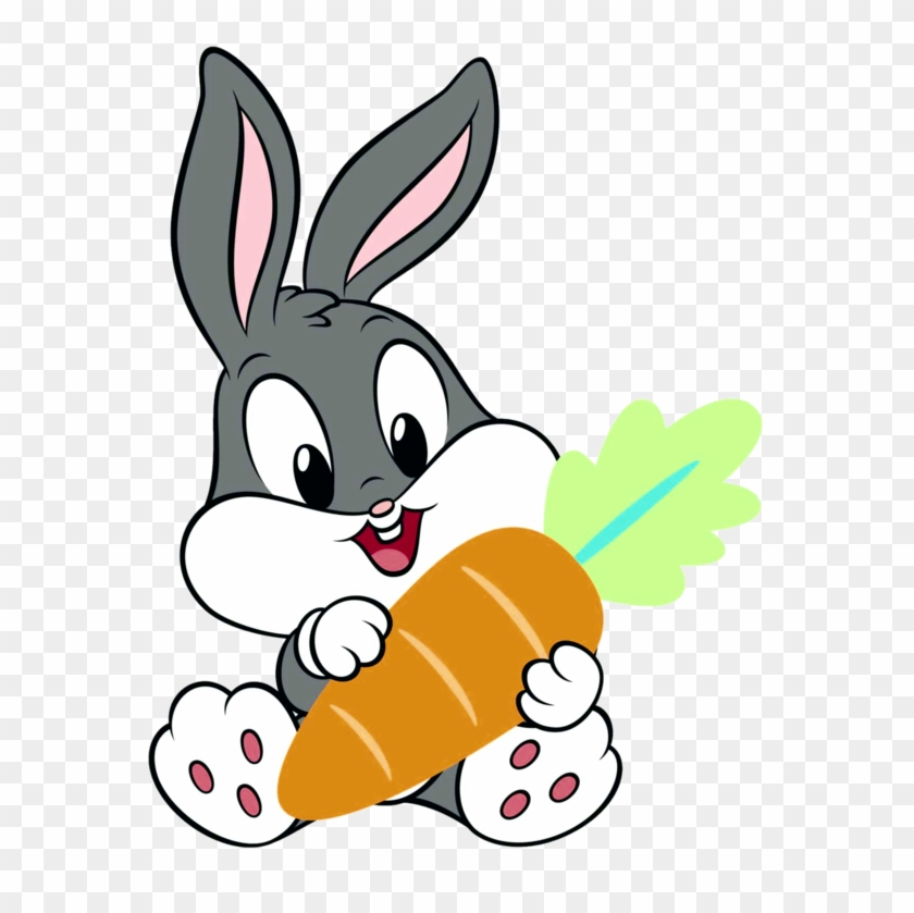 Bunny Baby Carrot Little Cute Animals Animal Animales - Baby Looney Tunes Bugs Bunny #539923