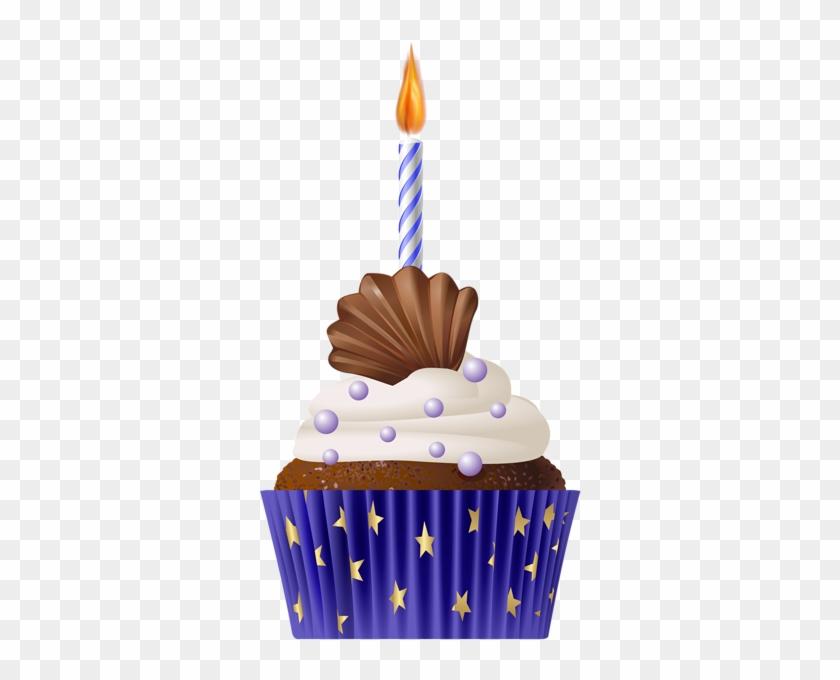 Imágenes De Cupcakes De Cumpleaños - Transparent Happy Birthday ...