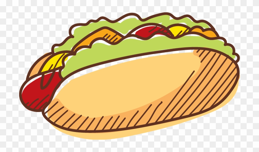 Hamburger Hot Dog Fast Food - Junk Food Vector Png #540210