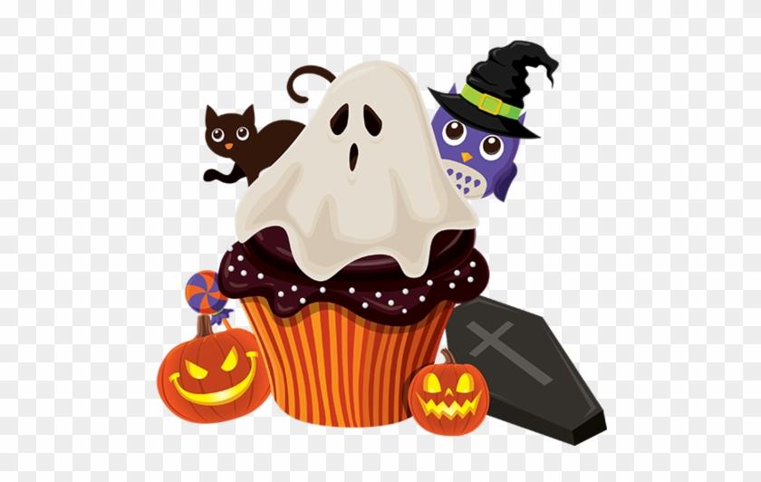 Tubes Halloween - Halloween Owl Witch Hat Pattern Sofa Cushion Pillow #540245