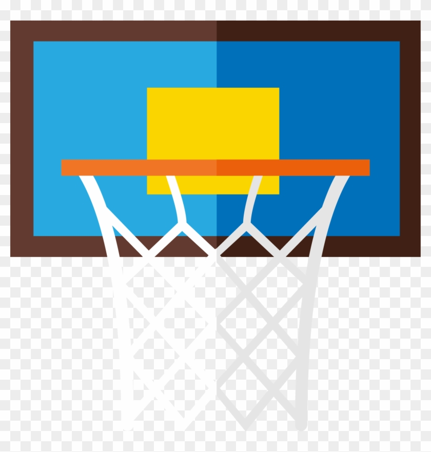 Basketball Court Breakaway Rim - Basketball #540786