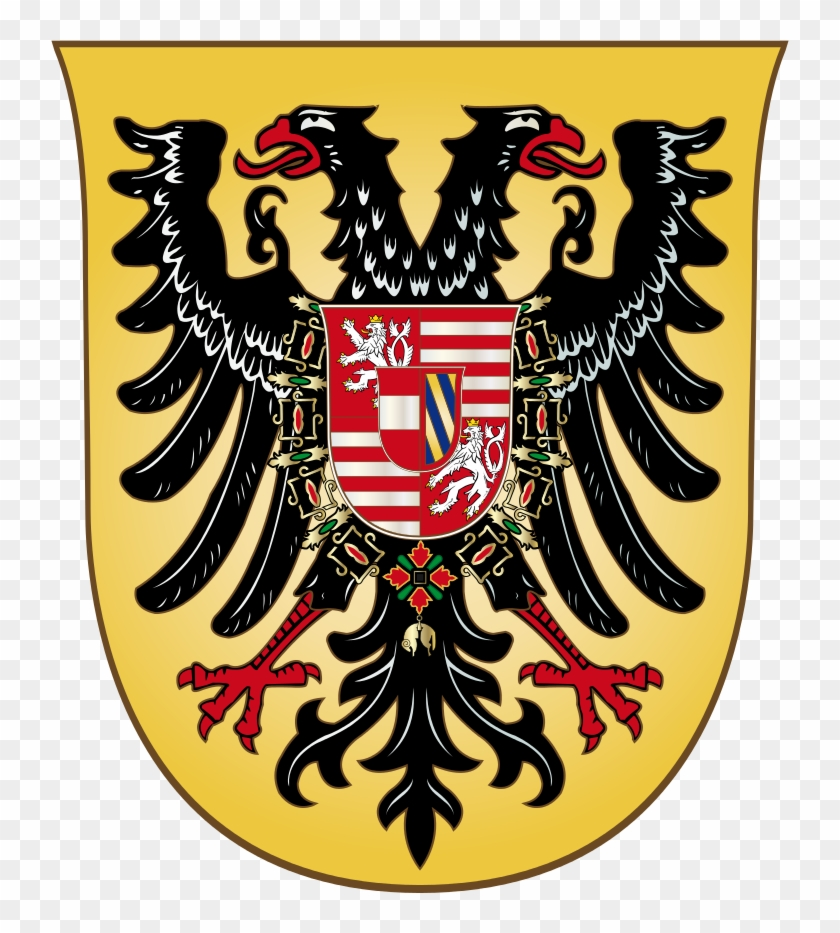 Coat Of Arms Of Holy Roman Emperor / King Ferdinand - Double-headed Eagle #541127