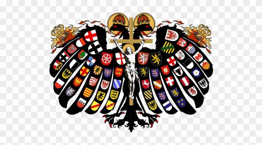 Flag, Coat Of Arms - Holy Roman Empire Coat Of Arms #541253