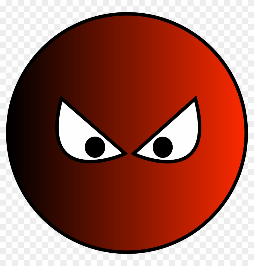 Snake Eyes Cliparts 4, Buy Clip Art - Red Ball With Eyes #541289