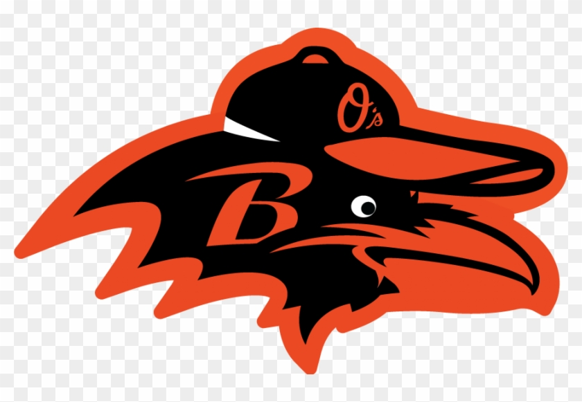 Ravens & O's All-city Logo - Baltimore Orioles #541886