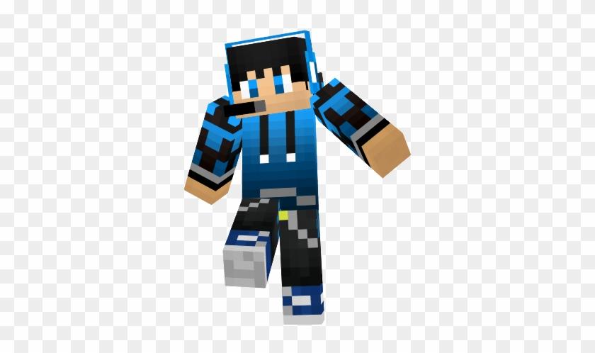 Minecraft Skins Clip Art Illustrations Minecraft Blue Red Boy Skin Free Transparent Png Clipart Images Download