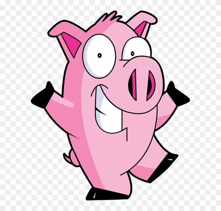 Cute Cartoon Pig 24, Buy Clip Art - Animated Pig Gif #542910