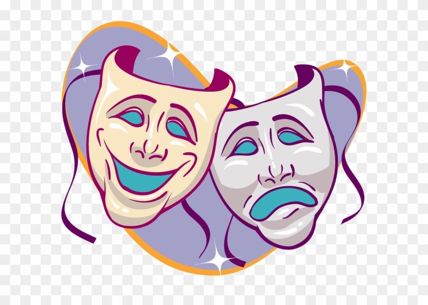 Театральные маски рисунок детский