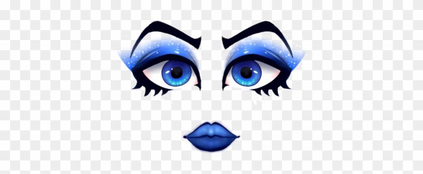 Creepy Roblox Faces Ids Bubble Blue Roblox Face Pink Makeup Free Transparent Png Clipart Images Download