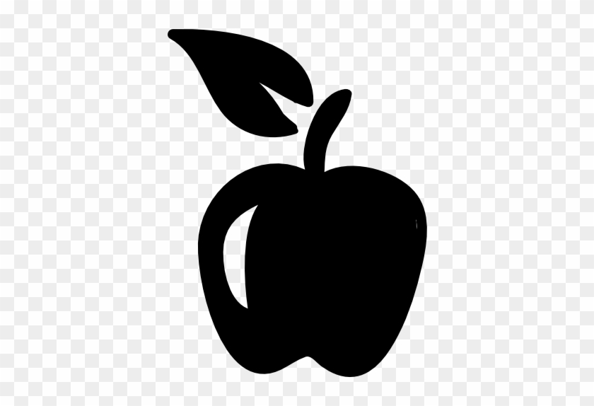 Apple Hand Drawn Fruit Vector - Apple Fruit Png Icon #543708