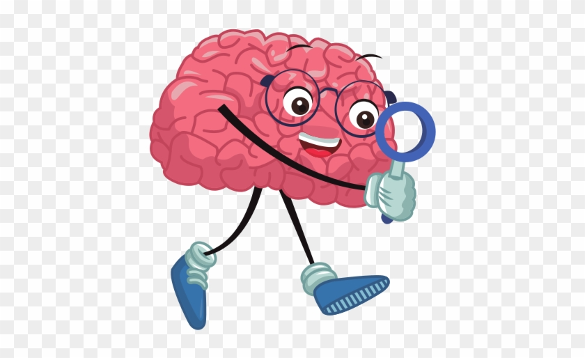 cute brain searching something illustration free transparent png clipart images download cute brain searching something
